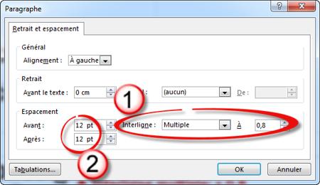 Modifiez Les Options De Mise En Forme Automatique Par Défaut