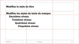 disposition du texte par défaut de PowerPoint 02