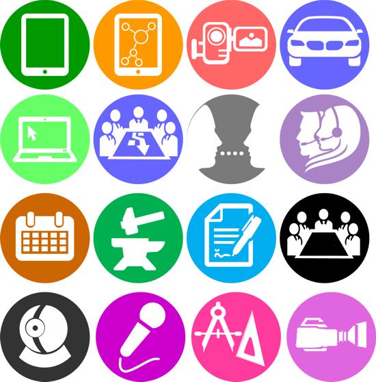 Bekannt Créer vos pictogrammes gratuitement dans Powerpoint  FB16