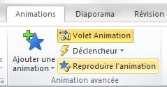 Dupliquer des animations avec la fonctionnalité Reproduire l'animation