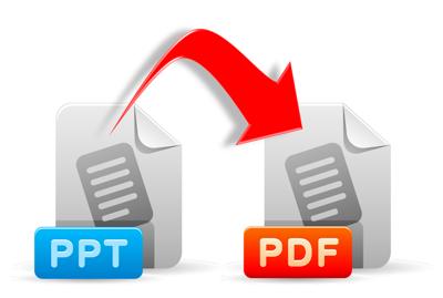 Enregistrer les présentations de vente sous pdf