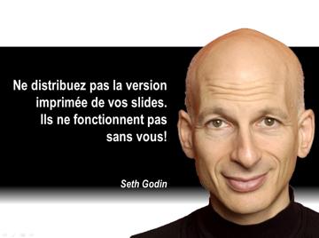 Les 3 meilleures citations de Seth Godin sur les présentations écrites