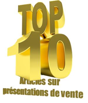 Top 10 présentation de vente