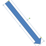 Powerpoint : Rotation flèche