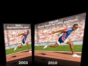 Dégradé dans PowerPoint 2010
