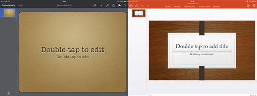 PowerPoint VS Keynote 00