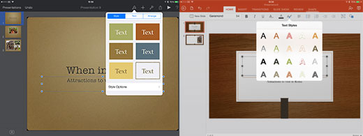 PowerPoint VS Keynote 01