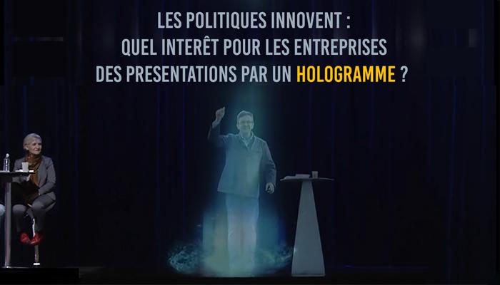 Présentation Hologramme Multimédia: secrets et leçons de celle de Mélenchon