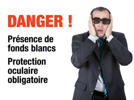 Présentation de vente slide-white-slide-warning-fr